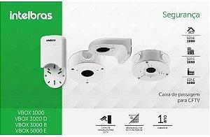 CAIXA SOBREPOR CFTV RETANGULAR VBOX 1000 INTELBRAS