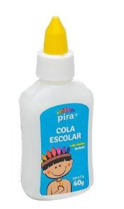 COLA BRANCA  40GR UN PIRATININGA CB-40