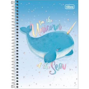 CADERNO CD ESPIRAL 1/4 80F BUBBLE (TILIBRA)