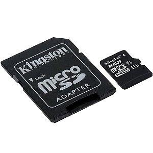 CARTAO DE MEMORIA  32 GB CL.10 80MB/S KINGSTON