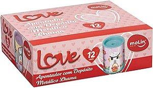 APONTADOR C/ TUBO LOVE LHAMA MOLIN