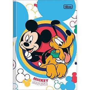 CADERNO BROCHURA CD 1/4 48F MICKEY (TILIBRA)