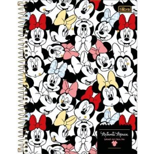 CADERNO CD UNV 10MAT MINNIE 160F (TILIBRA)