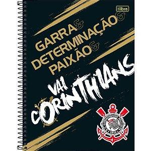 CADERNO CD UNV 01MAT CORINTHIANS 80F (TILIBRA)