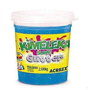 BIG KIMELEKA GLITTER AZUL 2,5KG ACRILEX