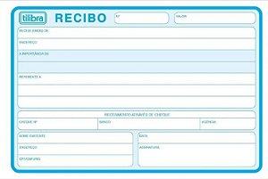 RECIBO COMERCIAL S/CANHOTO 50F GRANDE TILIBRA
