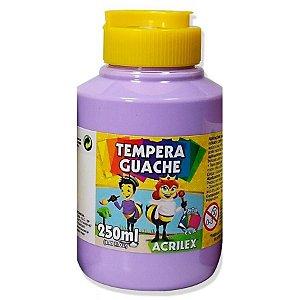 TINTA GUACHE 250ML LILAS ACRILEX 528