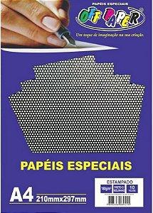 PAPEL A4 POA PRETO 180G UNITARIO OFF PAPER 10463