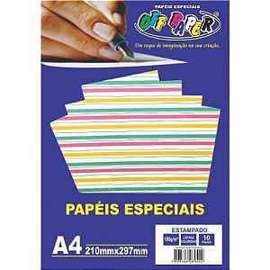 PAPEL A4 LISTRADO 180G OFF PAPER UNITARIO 10464