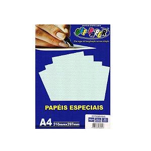 PAPEL A4 POA AZUL 180G UNITARIO OFF PAPER 10459