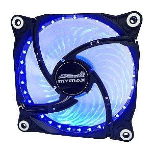 COOLER (120X120X25)(12V)(LED AZUL)(MYMAX)(FC-12025-33/BL)