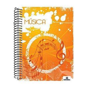 CADERNO MUSICA  200X275MM 70F 1X1 UN ROMIT