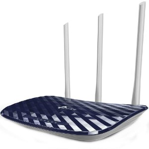 ROTEADOR WIRELESS AC 750 (3 ANT)(DUAL BAND)(TP-LINK)(ARCHER C20)