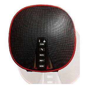 CAIXA SOM BLUETOOTH/SD/USB/FM (ALTOMEX) (VERMELHO/PRETO)