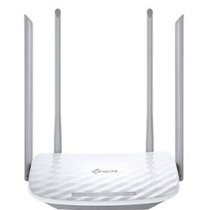ROTEADOR WIRELESS AC1200 (4 ANT)(DUAL BAND)(TP-LINK)(ARCHER C50)