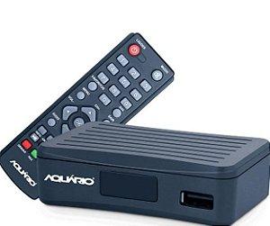 CONVERSOR E GRAVADOR DIGITAL FULL HD P/ TV MINI DTV-4000S AQUARIO