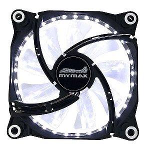 COOLER (120X120X25)(12V)(33 LED BRANCO)(MYMAX)FC-12025-33/WH