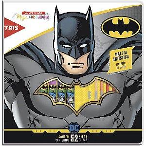 MALETA ARTISTICA BATMAN 52 ITENS TRIS