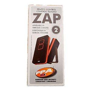 CONTROLE REMOTO PPA ZAP 2 BRANCO/ROSA A22201