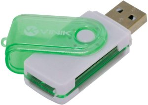 LEITOR DE CARTAO 4 EM 1 USB VINIK UL100