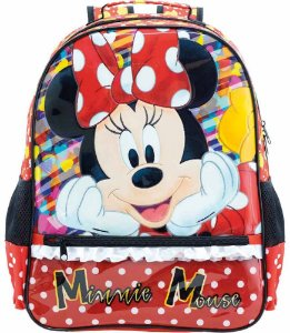 MOCHILA ESCOLAR MINNIE ITS ALL ABOUT MINNIE G (XERYUS) 8922