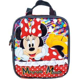 LANCHEIRA ESCOLAR MINNIE ITS ALL ABOUT MINNIE XERYUS 8924
