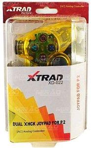 CONTROLE PLAYSTATION 2  XTRAD XD-022
