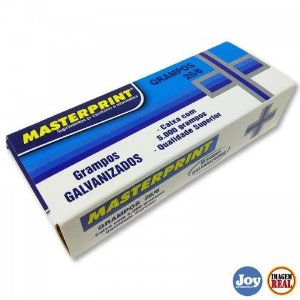 GRAMPOS COBREADO 26/6 CX.5000UN MASTERPRINT 303010001