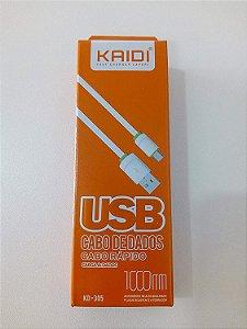 CABO USB V8 1MT  KAIDI KD-305