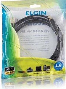 CABO USB IMPRESSORA 1,8M  2.0  ELGIN 46RCUSB2AB00
