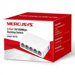 SWITCH 05 PORTAS 10/100 MERCUSYS MS105