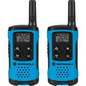 RADIO COMUNICADOR TALKABOUT 25KM AZUL MOTOROLA T100BR