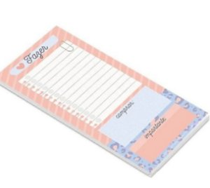 BLOCO NOTEPAD MAGNETICO NP20 CARTOES GIGANTES