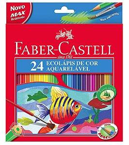 LAPIS DE COR AQUARELAVEL 24 CORES FABER CASTELL