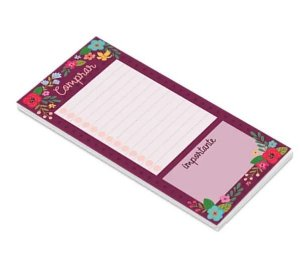BLOCO NOTEPAD MAGNETICO NP18 CARTOES GIGANTES