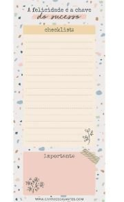 BLOCO NOTEPAD MAGNETICO NP22 CARTOES GIGANTES