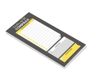 BLOCO NOTEPAD MAGNETICO NP21 CARTOES GIGANTES