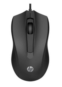 MOUSE USB PRETO 1600 DPI HP 100 6VY96AA