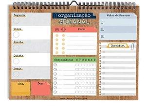 BLOCO WALL PLANNER ORGANIZACAO WP02 CARTOES GIGANTES