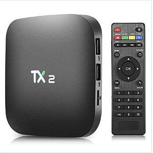 TV BOX 4K ULTRA HD TX2 TVBOX-TX2