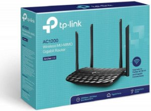 ROTEADOR WIRELESS AC1200 4 ANT DUAL BAND TP-LINK ARCHER C6