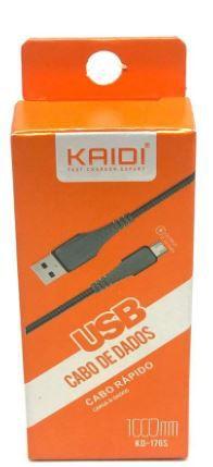 CABO USB V8  1 MT  KAIDI KD-176S