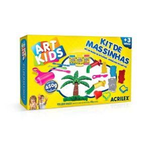 KIT DE MASSINHAS ART KIDS 5 ACRILEX