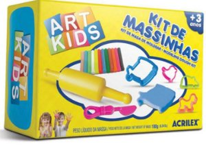 KIT DE MASSINHAS ART KIDS 2 ACRILEX 40002