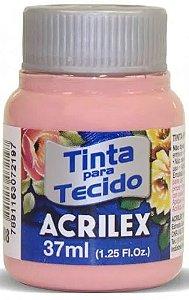 TINTA TECIDO 37ML ROSE ACRILEX 988