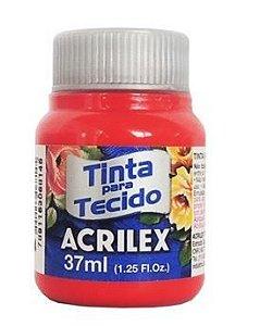 TINTA TECIDO 37ML VERMELHO NATAL ACRILEX 984