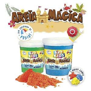 AREIA MAGICA AZUL 550G ACRILEX