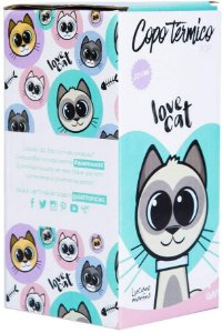 COPO TERMICO POP CAT LOVE 200ML UATT