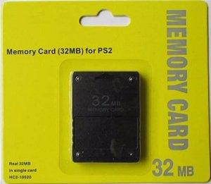 CARTAO DE MEMORIA 32 MB PLAYSTATION 2