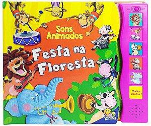 LIVRO HISTORIA CD MUSICAL FESTA NA FLORESTA TODO O LIVRO
